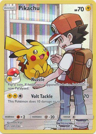 Pikachu -- 241/236 - Secret Rare