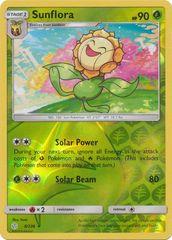 Sunflora - 8/236 - Rare - Reverse Holo