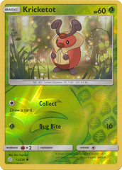 Kricketot - 13/236 - Common - Reverse Holo