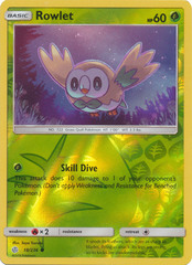 Rowlet - 18/236 - Common - Reverse Holo