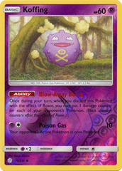Koffing - 76/236 - Common - Reverse Holo