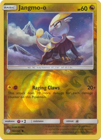 166//236 Eevee Common  Reverse Holo Cosmic Eclipse Pokemon
