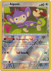 Aipom - 169/236 - Common - Reverse Holo