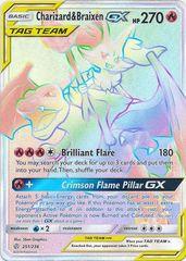 Charizard & Braixen GX (Secret) -- 251/236 - Secret Rare