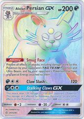 Alolan Persian GX - 257/236 - Secret Rare