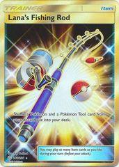 Lana's Fishing Rod - 266/236 - Secret Rare on Channel Fireball