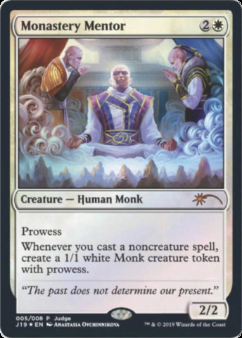 Monastery Mentor - Foil DCI Judge Promo