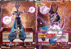 Beerus // Beerus, furious Strike - BT8-002 - UC - Foil on Channel Fireball