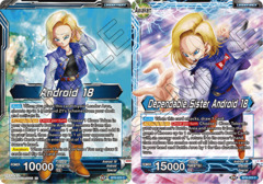 Android 18 // Dependable Sister Android 18 - BT8-023 - C - Foil