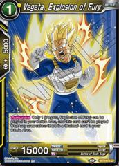 Vegeta, Explosion of Fury - BT8-071 - C - Foil