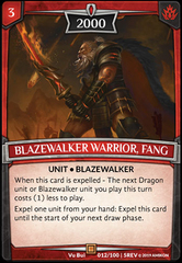 Blazewalker Warrior, Fang