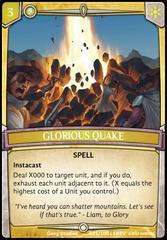 Glorious Quake - Foil