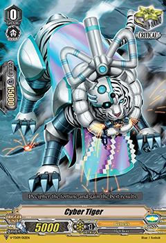 Cyber Tiger - V-TD09/012EN - TD - Foil