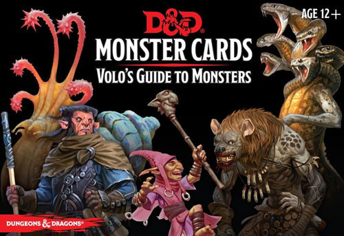 D&D Monster Cards: Volos Guide to Monsters