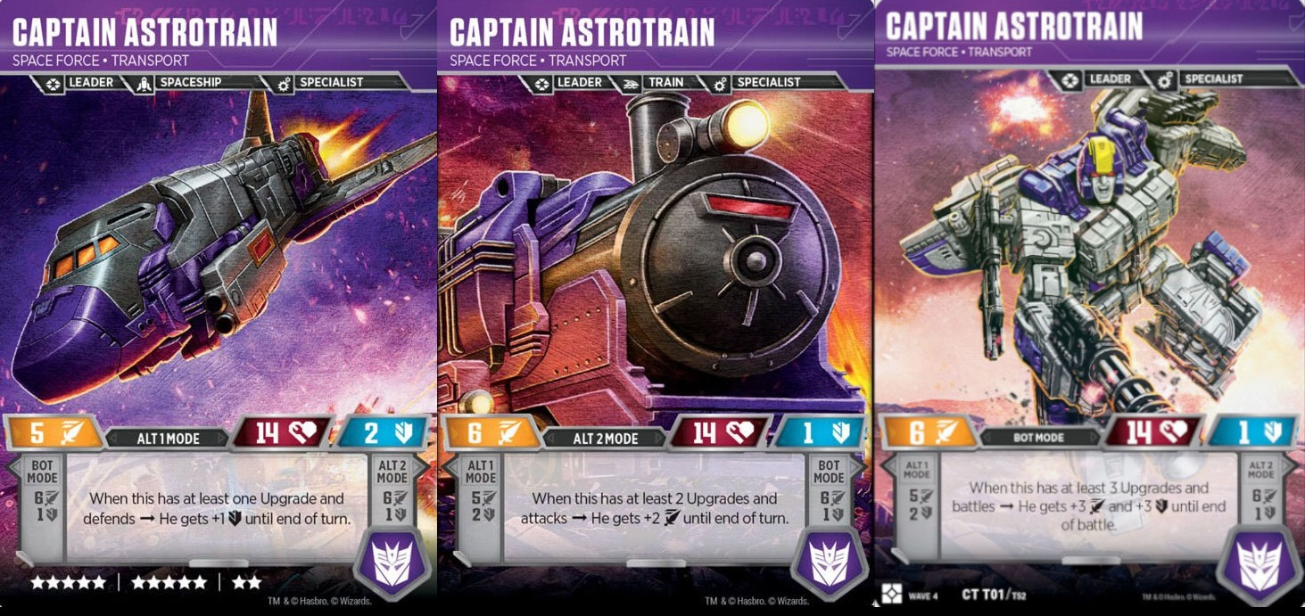 Captain Astrotrain // Space Force Transport