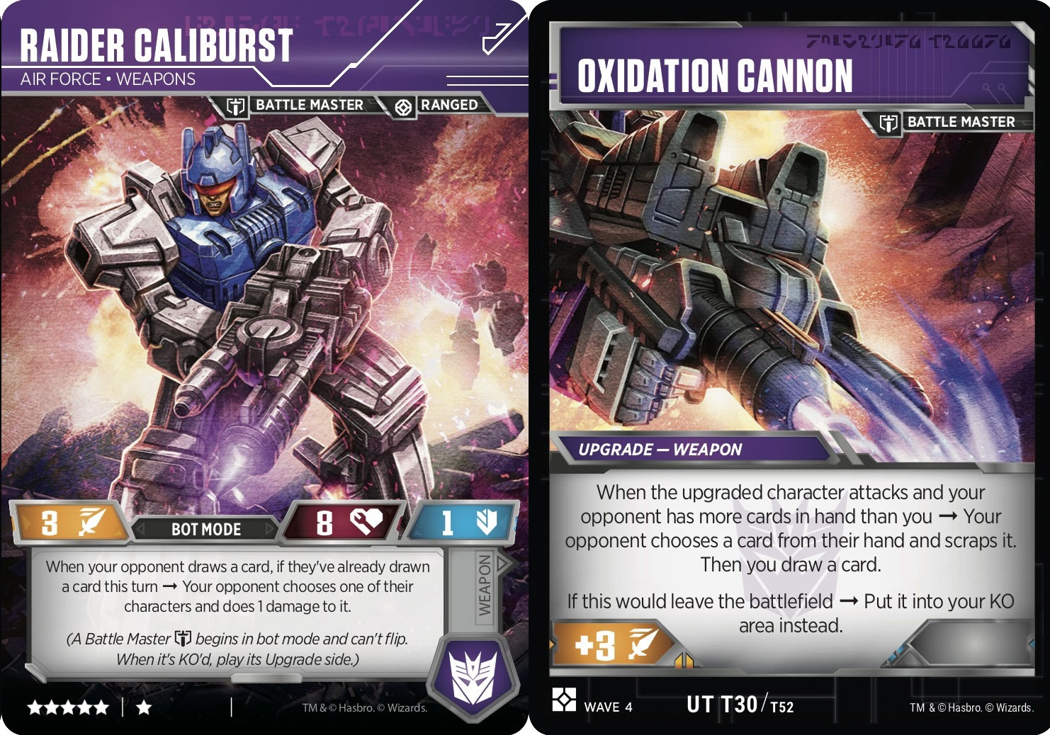 Raider Caliburst // Air Force Weapons