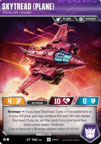 Skytread (Plane) // Special Ops Soldier (Raider Skytread Alt)