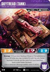 Skytread (Tank) // Special Ops Soldier (Raider Skytread Alt)