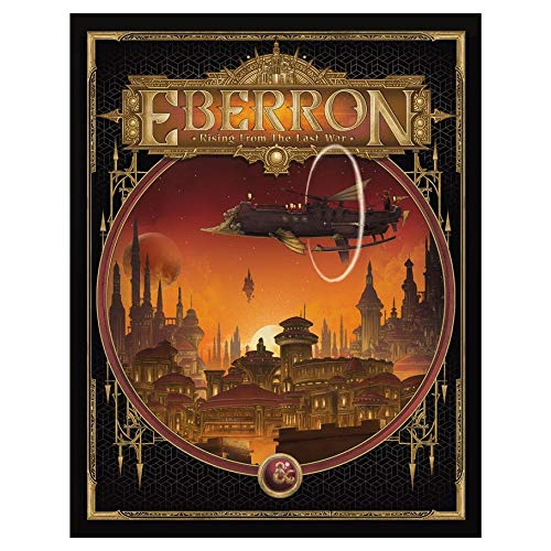 D&D 5th Edition Eberron Rising from the Last War - Alternate Cover