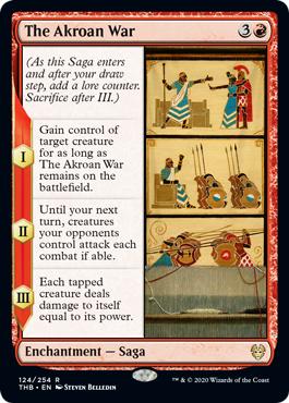 The Akroan War - Foil