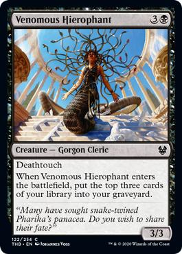 Venomous Hierophant - Foil
