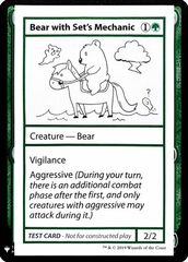 Bear with Set's Mechanic