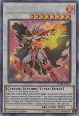 Geomathmech Magma - MYFI-EN007 - Secret Rare - 1st Edition on Channel Fireball