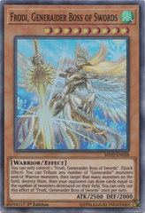 Frodi, Generaider Boss of Swords - MYFI-EN028 - Super Rare - 1st Edition