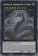 Jormungandr, Generaider Boss of Eternity - MYFI-EN033 - Secret Rare - 1st Edition