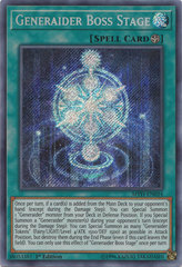 Generaider Boss Stage - MYFI-EN034 - Secret Rare - 1st Edition