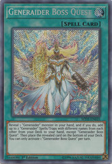 Generaider Boss Quest - MYFI-EN035 - Secret Rare - 1st Edition on Channel Fireball