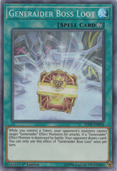 Generaider Boss Loot - MYFI-EN036 - Super Rare - 1st Edition on Channel Fireball