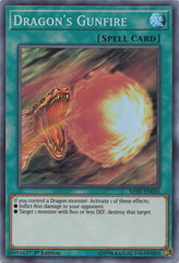 Dragon's Gunfire - MYFI-EN050 - Super Rare - 1st Edition on Channel Fireball
