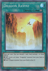 Dragon Ravine - MYFI-EN056 - Super Rare - 1st Edition on Channel Fireball