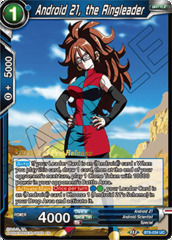 Android 21, the Ringleader - BT8-034 - UC - Pre-release (Malicious Machinations)