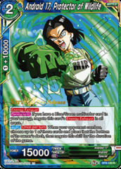 Android 17, Protector of Wildlife - BT8-120 - R - Pre-release (Malicious Machinations)
