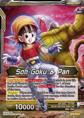 Son Goku & Pan // SS4 Son Goku, Senses Regained - BT8-066 - C - Pre-release (Malicious Machinations)