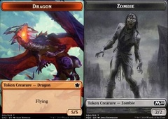 Dragon Token // Zombie Token