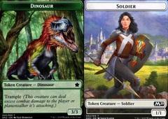 Dinosaur Token // Soldier Token