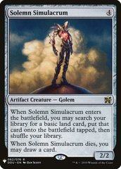 Solemn Simulacrum (Mystery Booster)