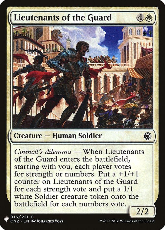 Lieutenants of the Guard