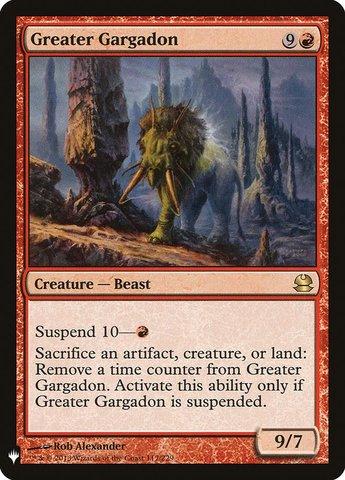 Greater Gargadon