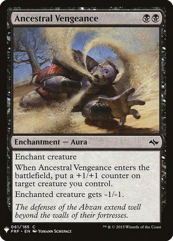 Ancestral Vengeance