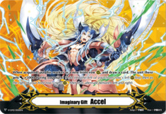 ▽ Imaginary Gift Marker [Accel II] - Incandescent Lion, Blond Ezel - V-GM2/0050EN - GM (FOIL) [V-CS02]