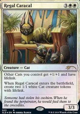 Regal Caracal - Foil