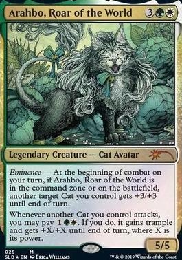 Arahbo, Roar of the World - Foil