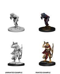 Nolzur's Marvelous Miniatures - Wererat & Weretiger