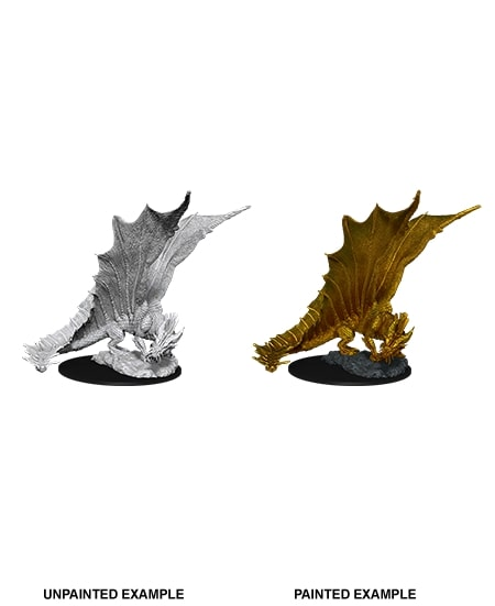 Nolzurs Marvelous Miniatures - Young Gold Dragon