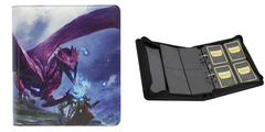 "Dragon Shield: Card Codex Zipster Binder Small - Purple ""Amifist"""