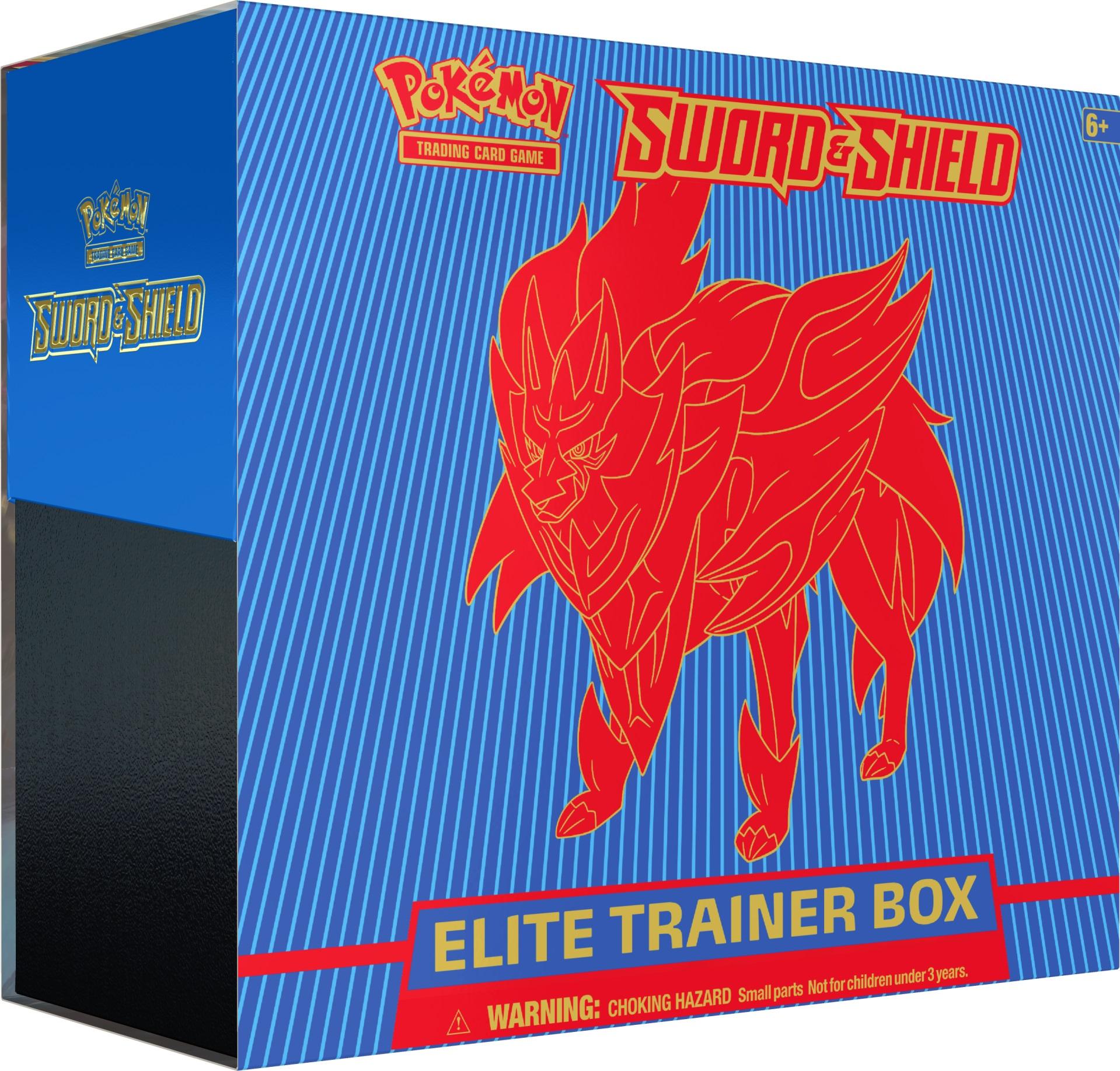 Sword & Shield - Base Set Elite Trainer Box - Zamazenta